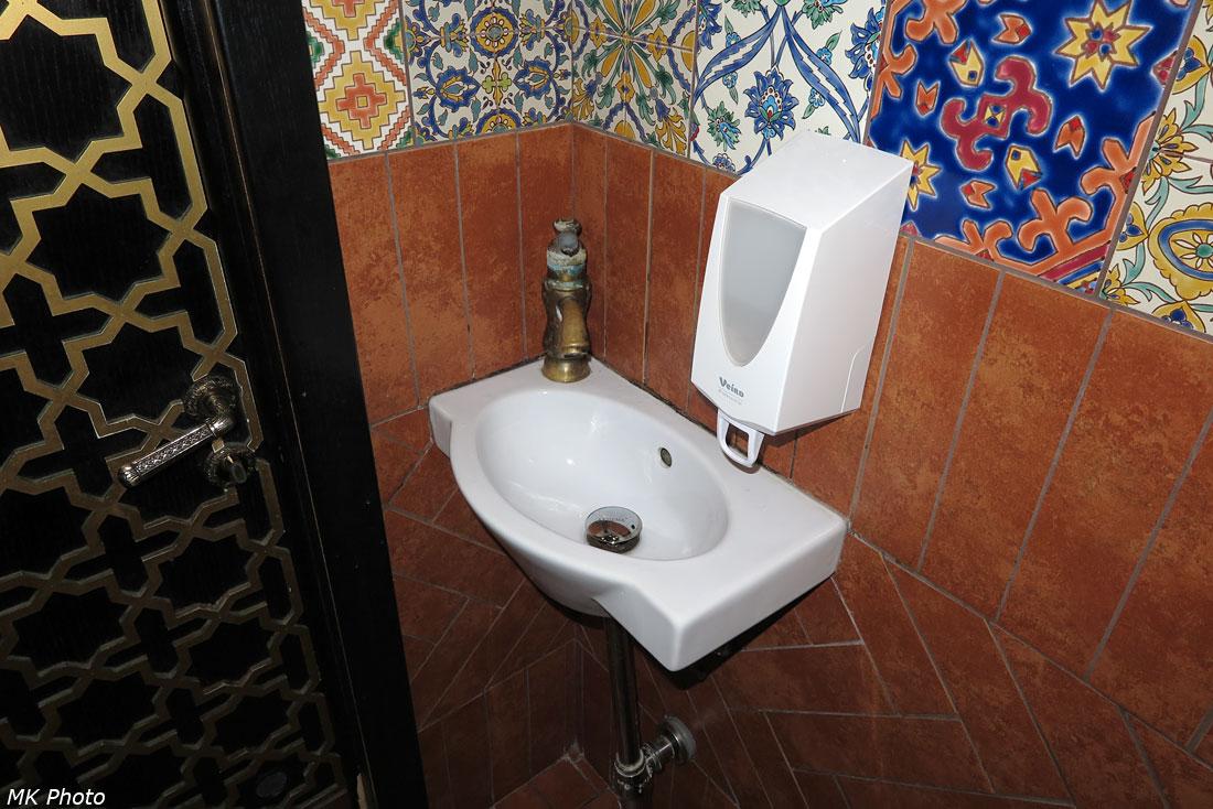 Ресторанный туалет