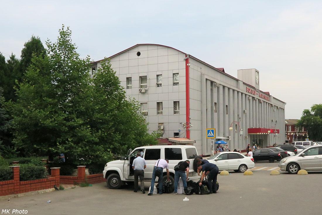 Унылейшее здание вокзала Махачкалы