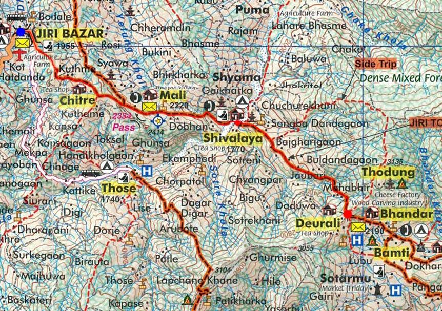 Карта маршрута 26 марта