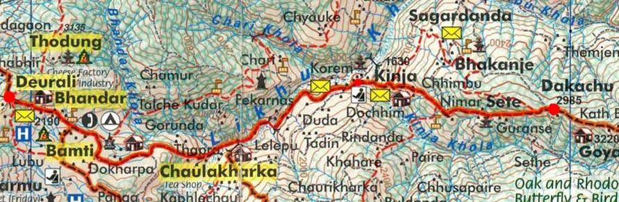 Карта маршрута 27 марта