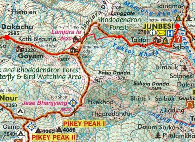 Карта маршрута 28 марта