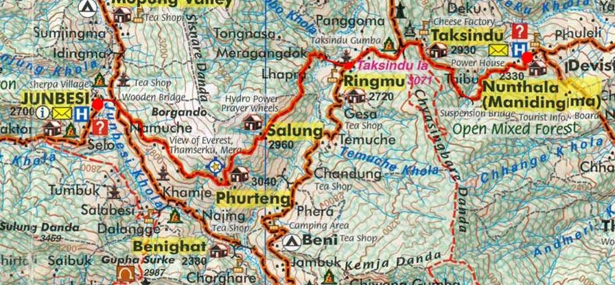 Карта маршрута 30 марта