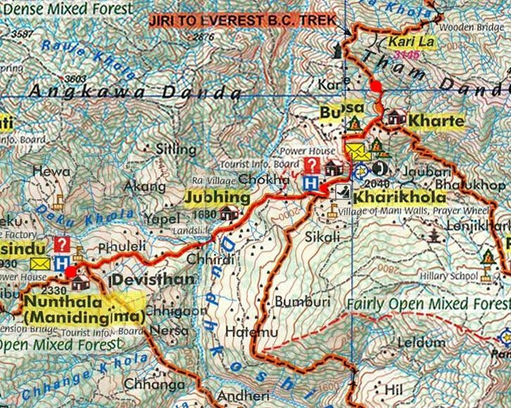 Карта маршрута 31 марта