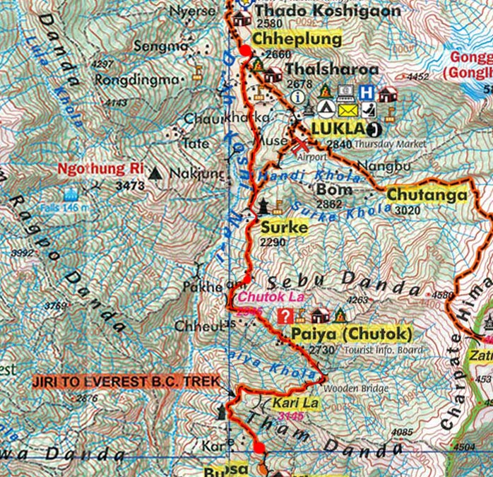 Карта маршрута 1 апреля