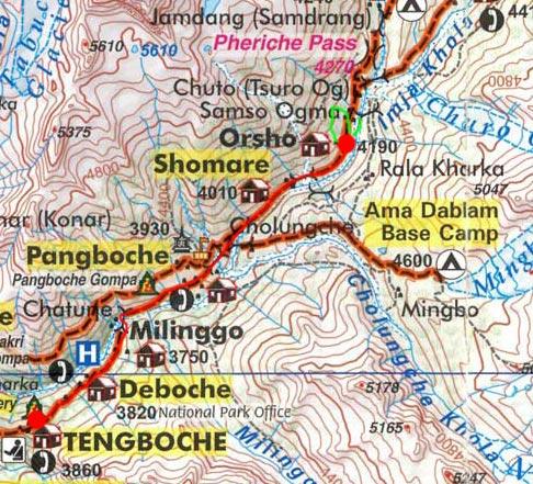 Карта маршрута 6 апреля