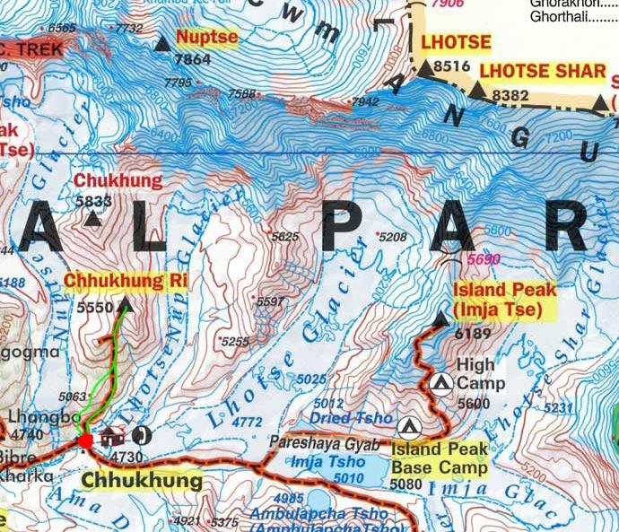 Карта маршрута 10 апреля