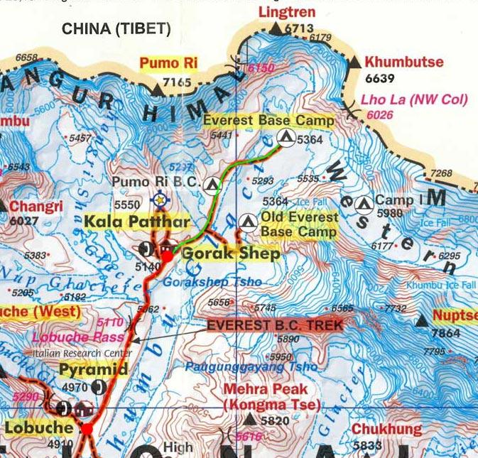 Карта маршрута 12 апреля