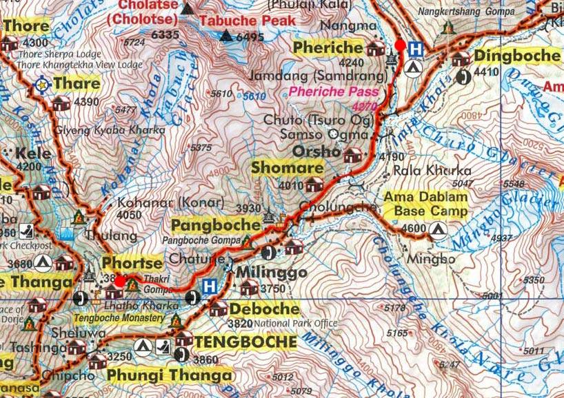 Карта маршрута 14 апреля