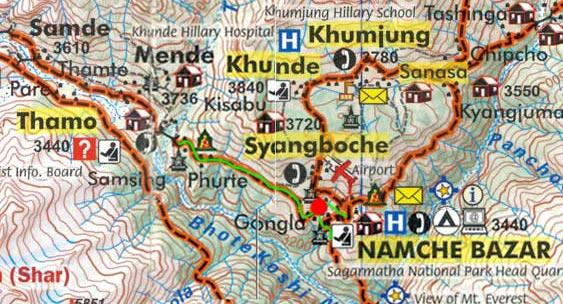 Карта маршрута 22 апреля