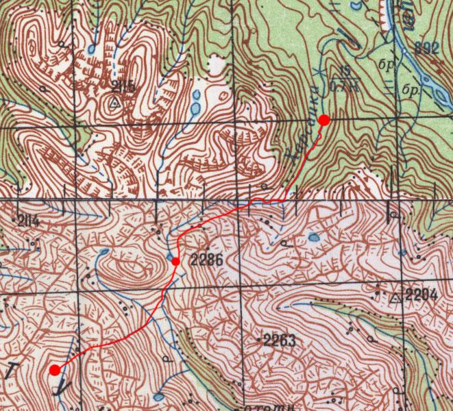 Карта маршрута 28 июля