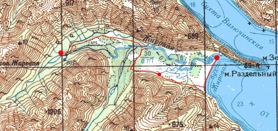 Карта маршрута 8 августа