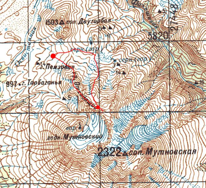Карта маршрута 11 августа