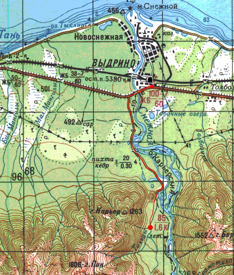 Карта пути 2 мая
