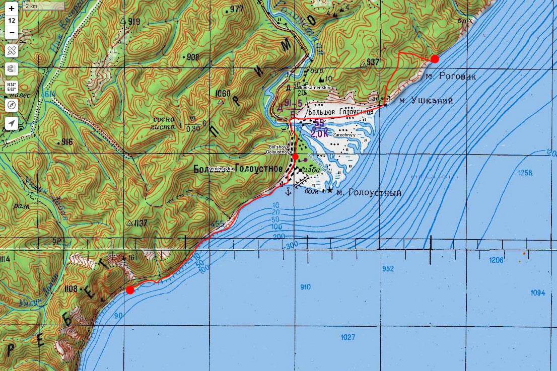 Карта маршрута 7 сентября