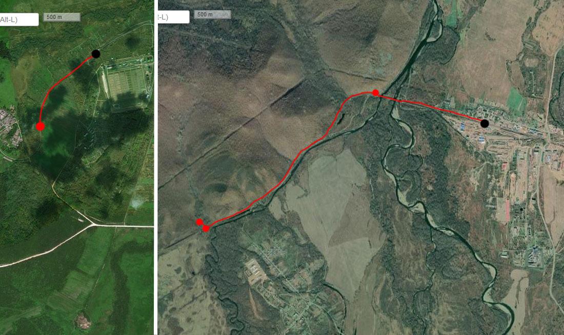 Спутниковый снимок 4 июля