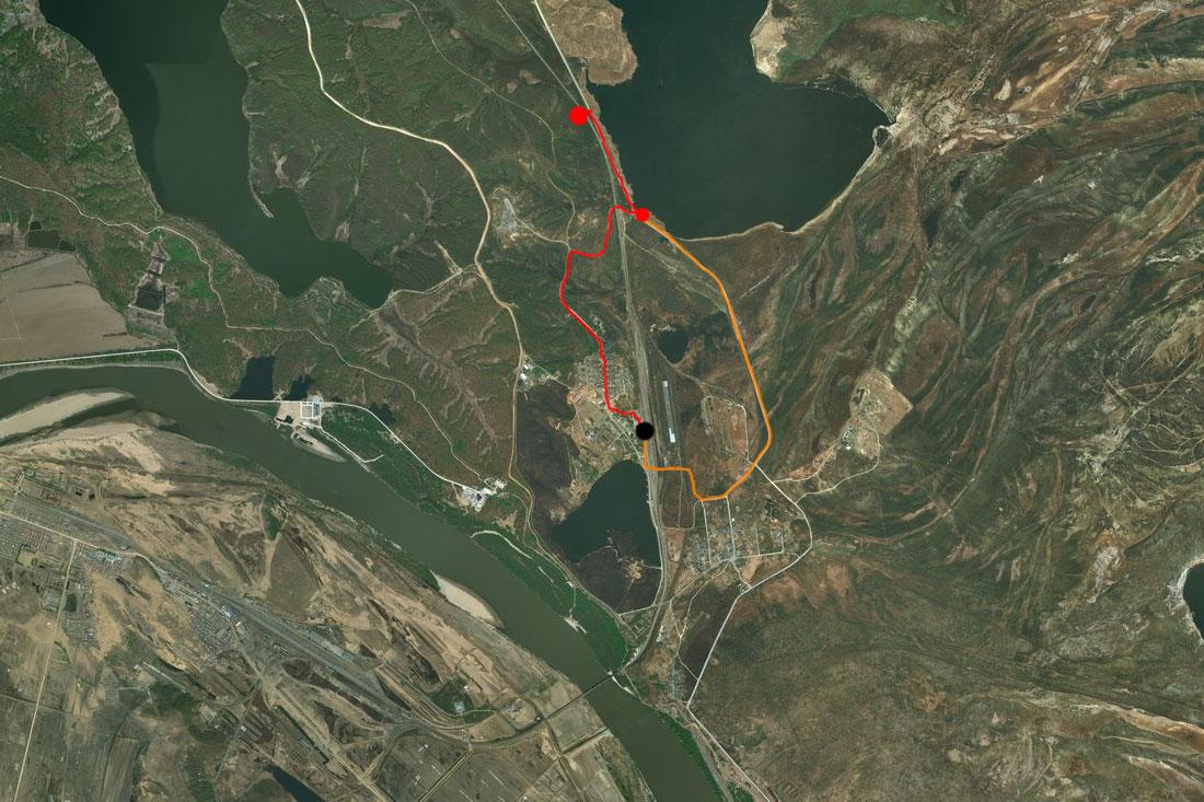 Спутниковый снимок 5-6 июля