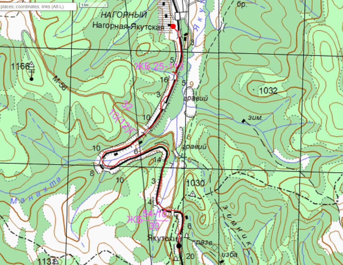Карта 12 июля