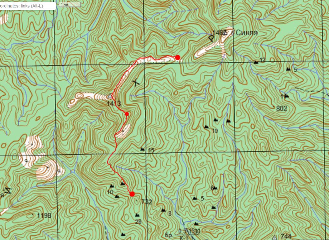 Карта маршрута 16 сентября