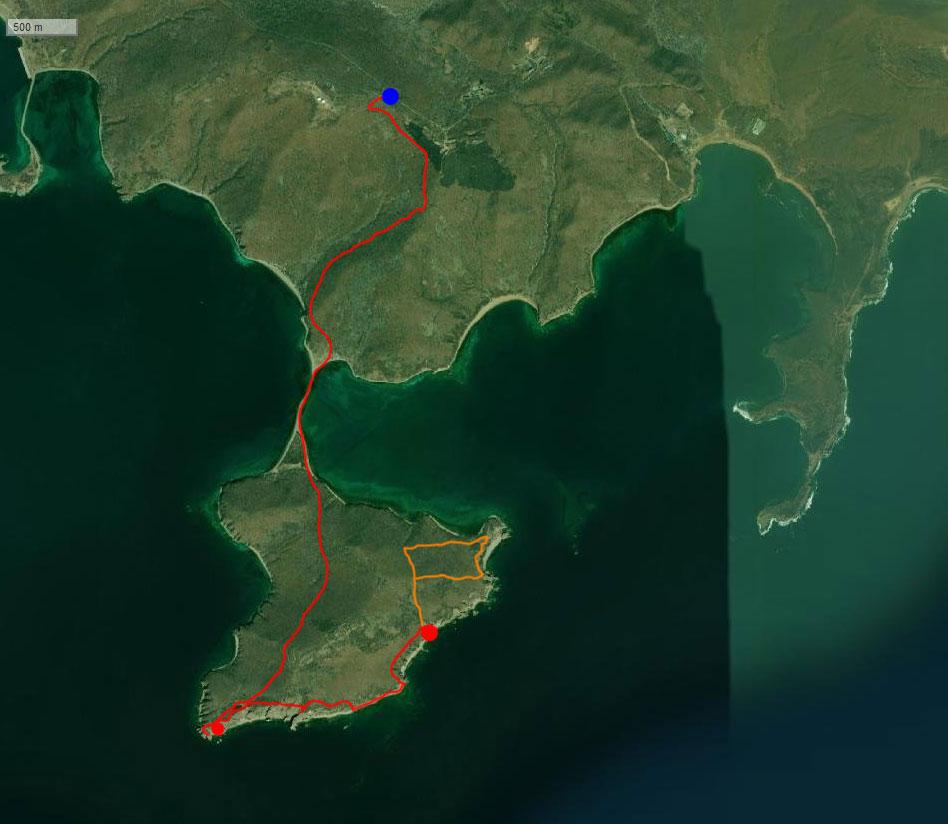 Спутниковый снимок маршрута 20 сентября