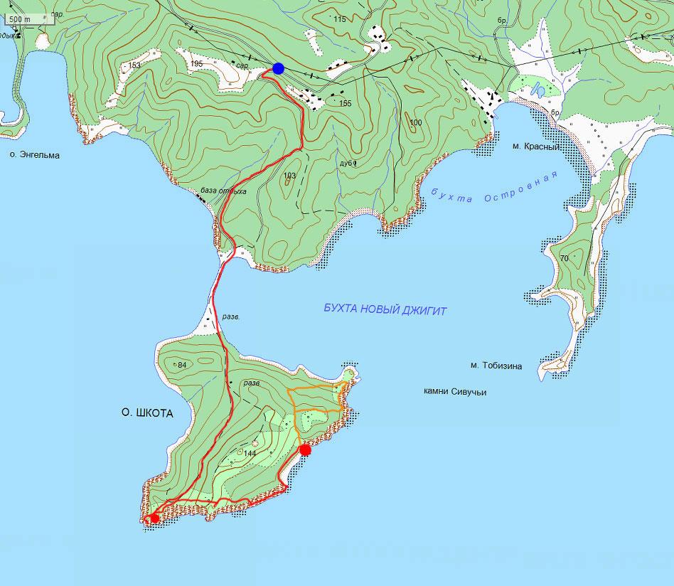 Карта маршрута 20 сентября