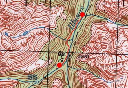 Карта пути 28 июня