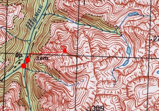 Карта пути 30 июня