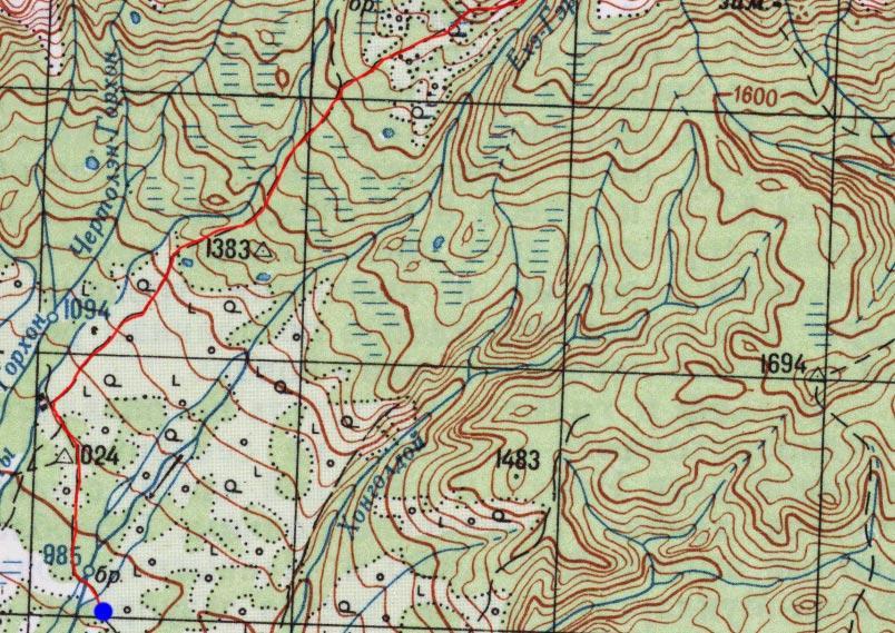 Карта пути 2 июля