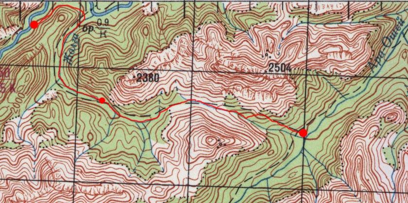 Карта пути 3 мая