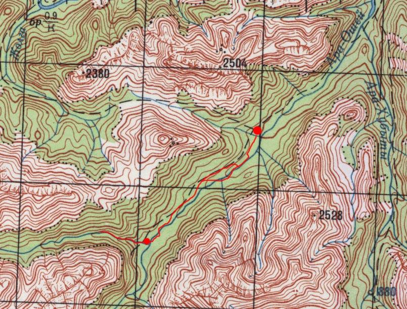 Карта пути 4 мая