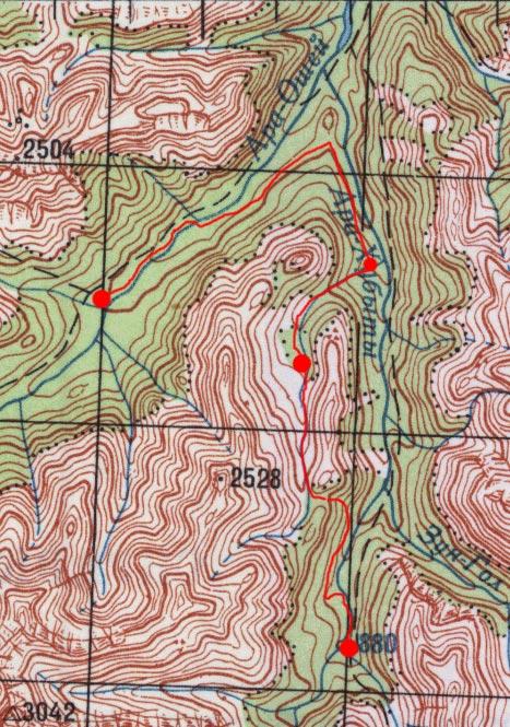 Карта пути 5-6 мая