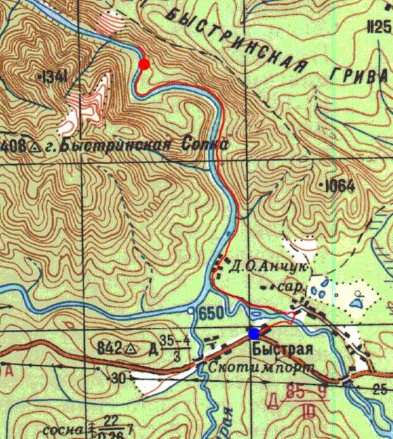 Карта пути 1 ноября