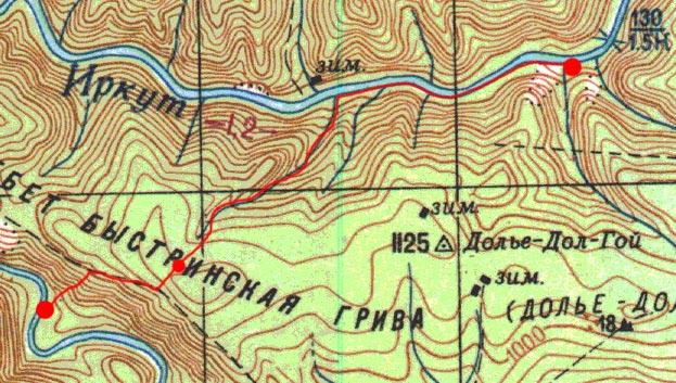 Карта пути 2 ноября