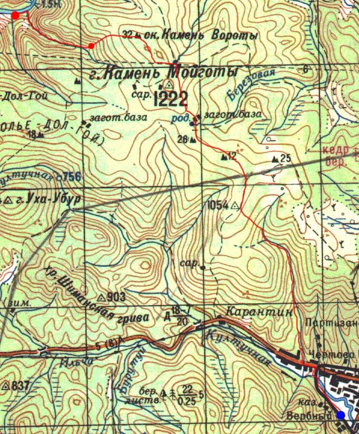 Карта пути 3 ноября