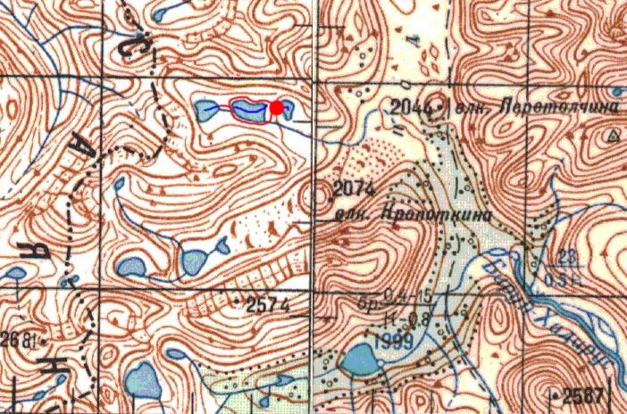Карта маршрутов 16-17 августа