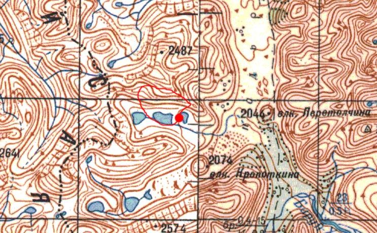 Карта радиалки 18 августа