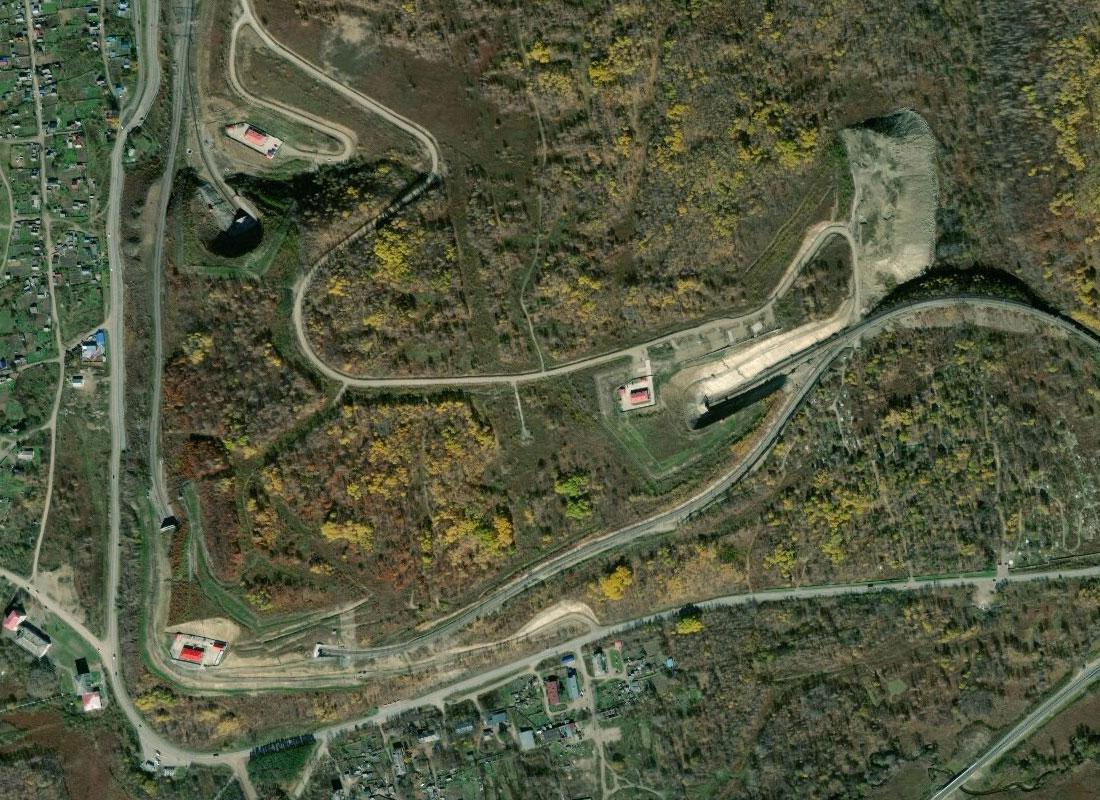 Район Облученского тоннеля
