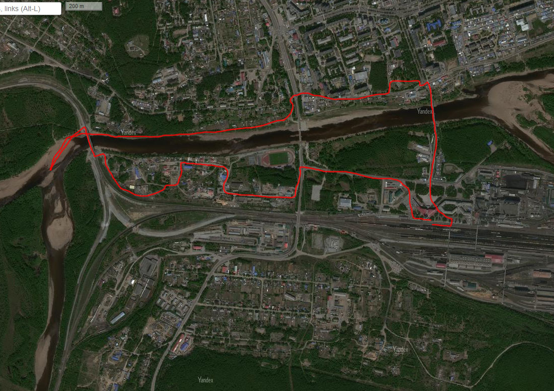 Спутниковый снимок 17 июля