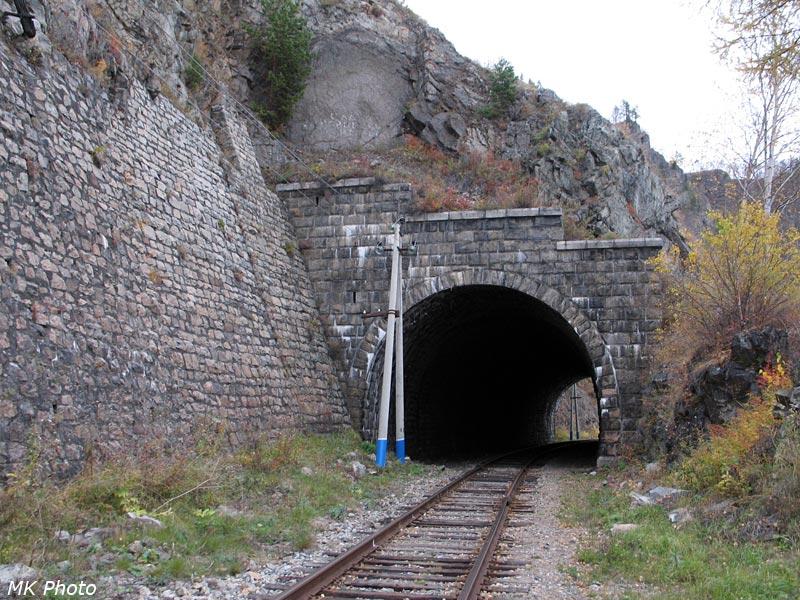Восточный портал тоннеля Двойная Губа 1