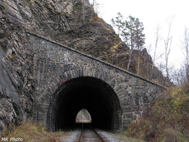 Восточный портал тоннеля Шарыжалгай 2