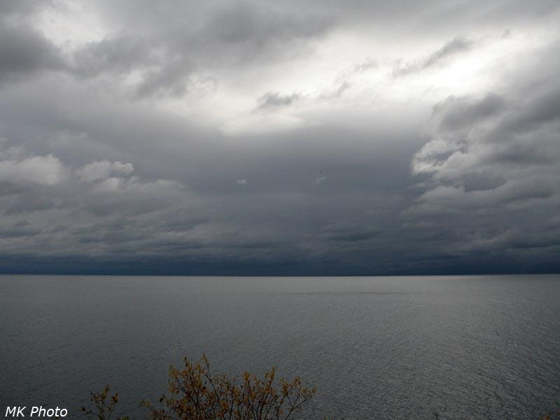 Хамар-Дабан скрыт в облаках