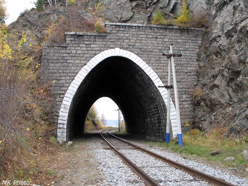 Западный портал тоннеля Шарыжалгай 4