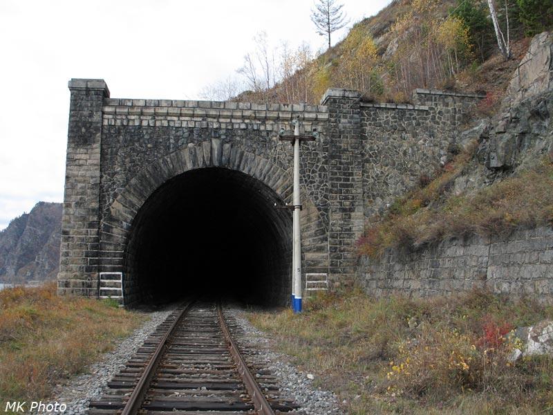 Западный портал тоннеля Малая Крутая Губа